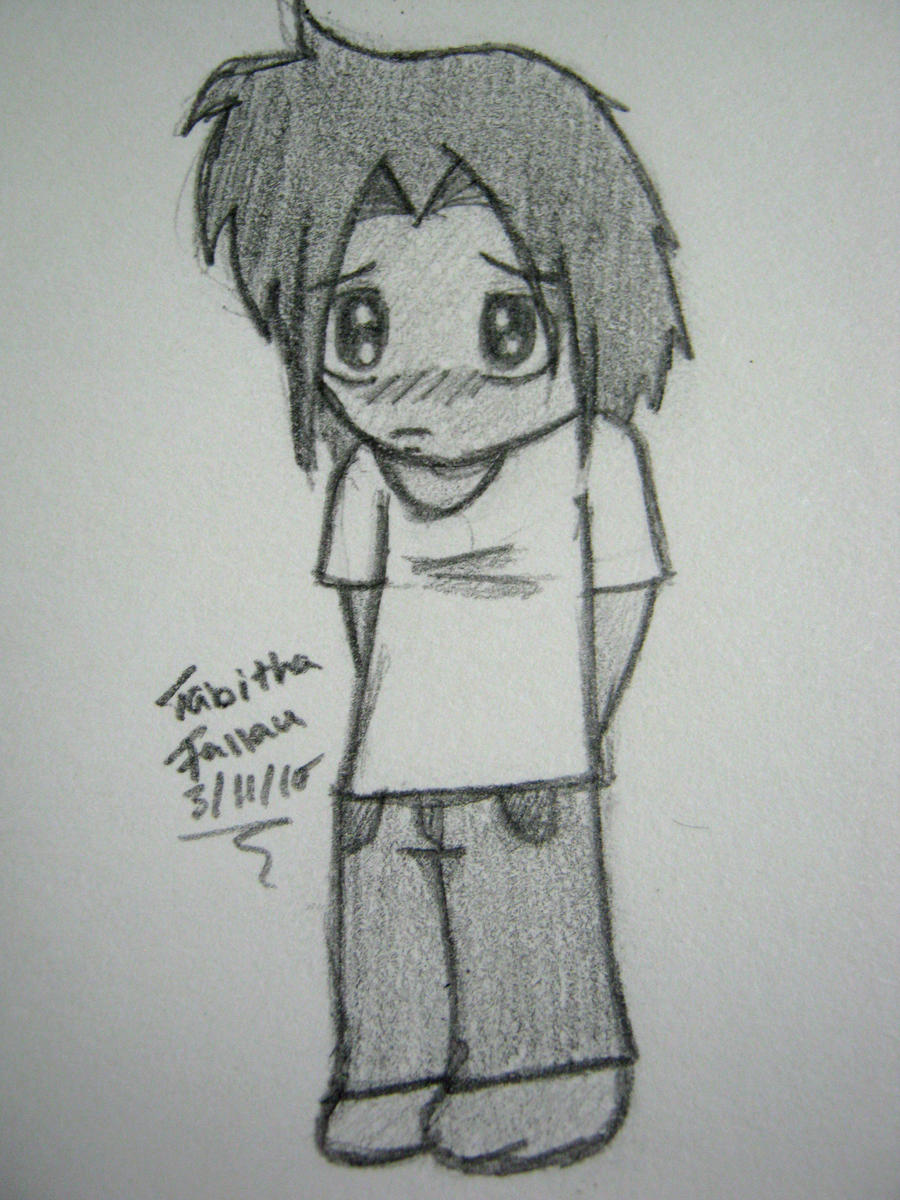 Shy Chibi Boy By Tabbycat1212 On DeviantArt