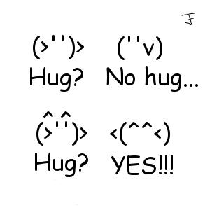 Emoticon Hugs by tabbycat1212 on DeviantArt