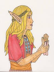 Violet, Priest of Eothas by durandir