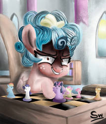Make your move (Painting) by Snogwritts