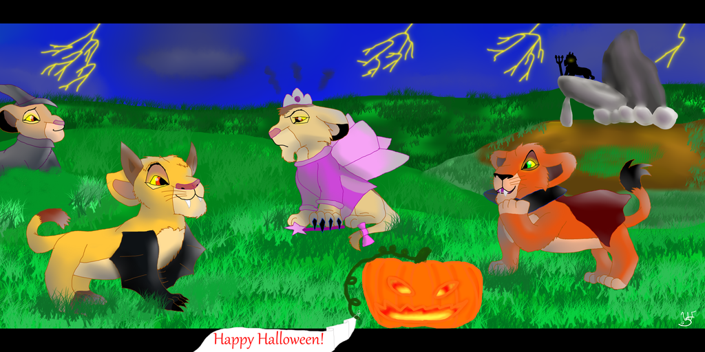 Contest Entry= Happy Halloween! by WelpPwr