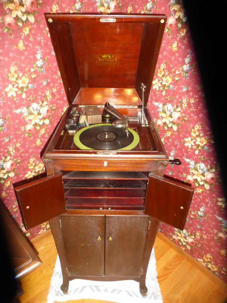 Victrola Talking Machine by Windaddyflex