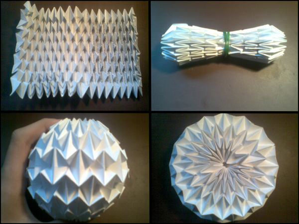 origami magic ball