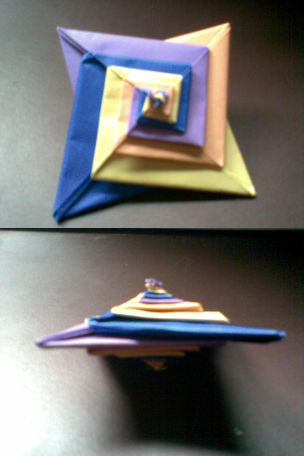 Origami Spiral by Heyro0