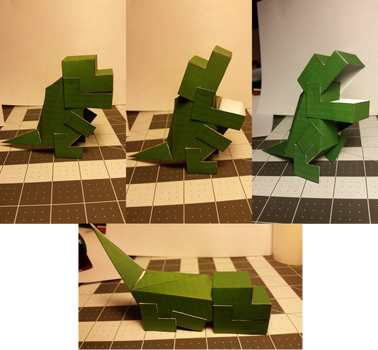 Posable Trex [Template] by Heyro0