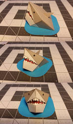 Desktop Shark [Template] by Heyro0