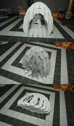 Sliceform Hive by Heyro0