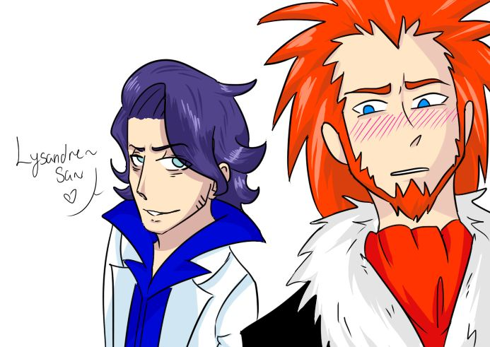 Sycamore x Lysandre by OnePiece193 on DeviantArt  Sycamore x Lysa...
