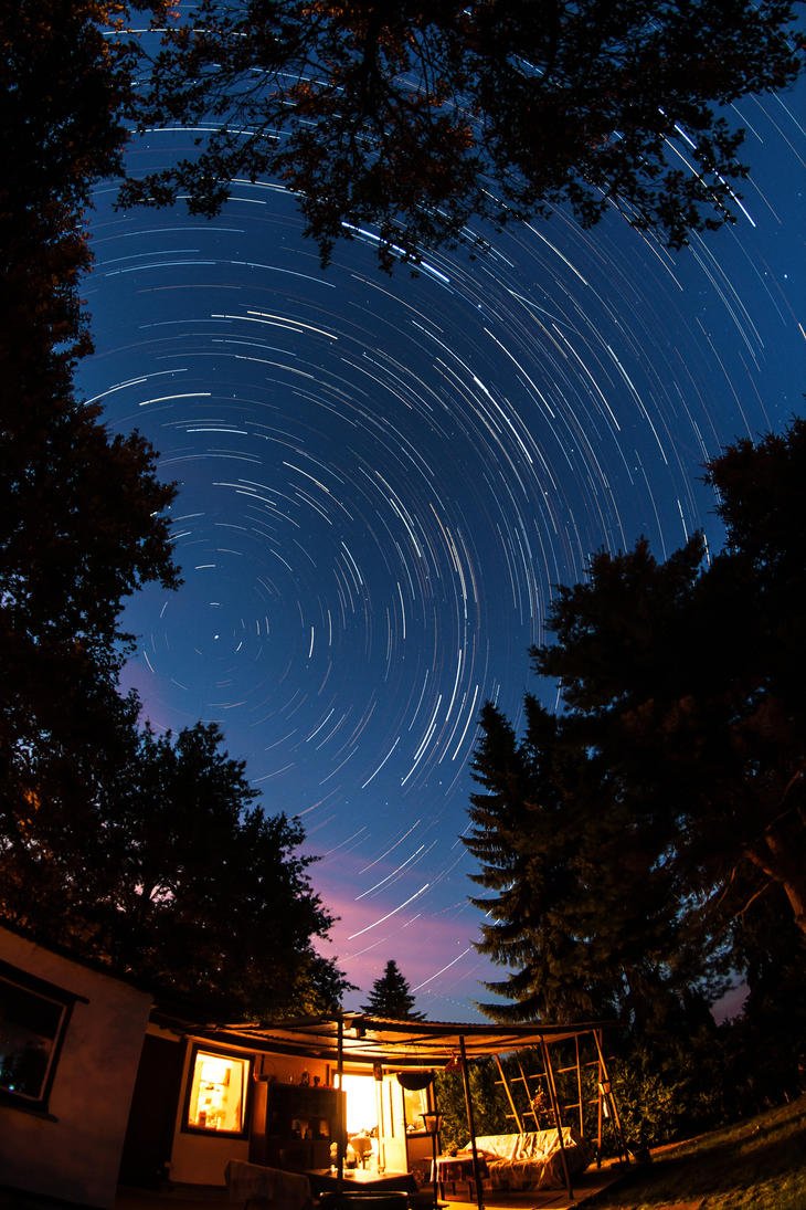Startrail by Stegie