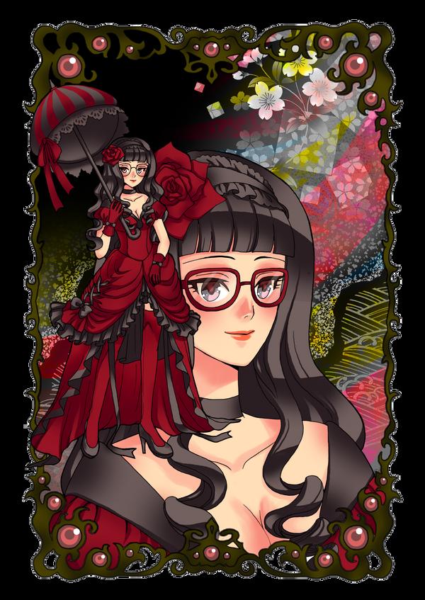 Commission: Fervent Femme Fatale by mokona418