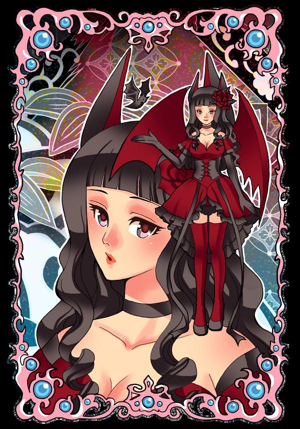 Commission: Fervent Femme Fatale II by mokona418