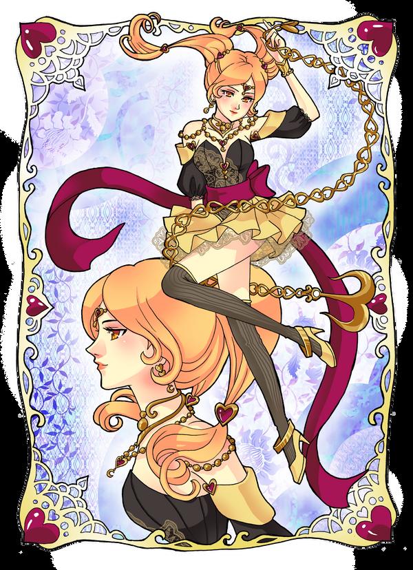 Commission: Sailor Aphrodite by mokona418