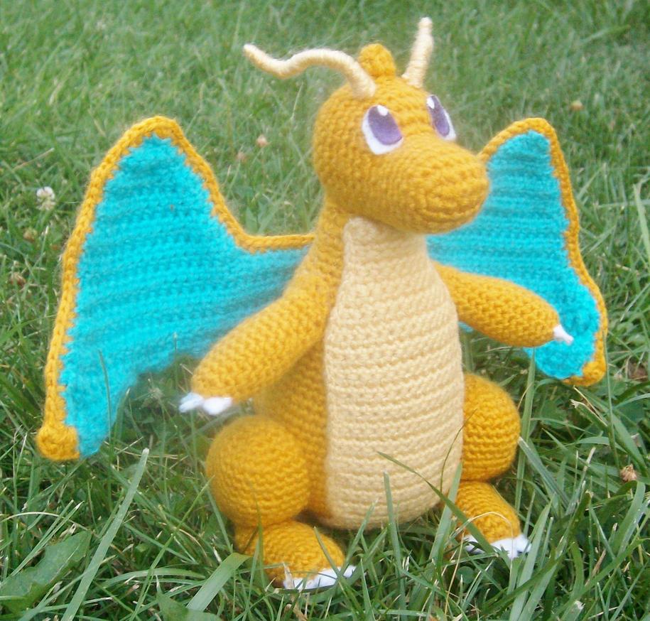 149 Dragonite Amigurumi by LilDezzi on DeviantArt