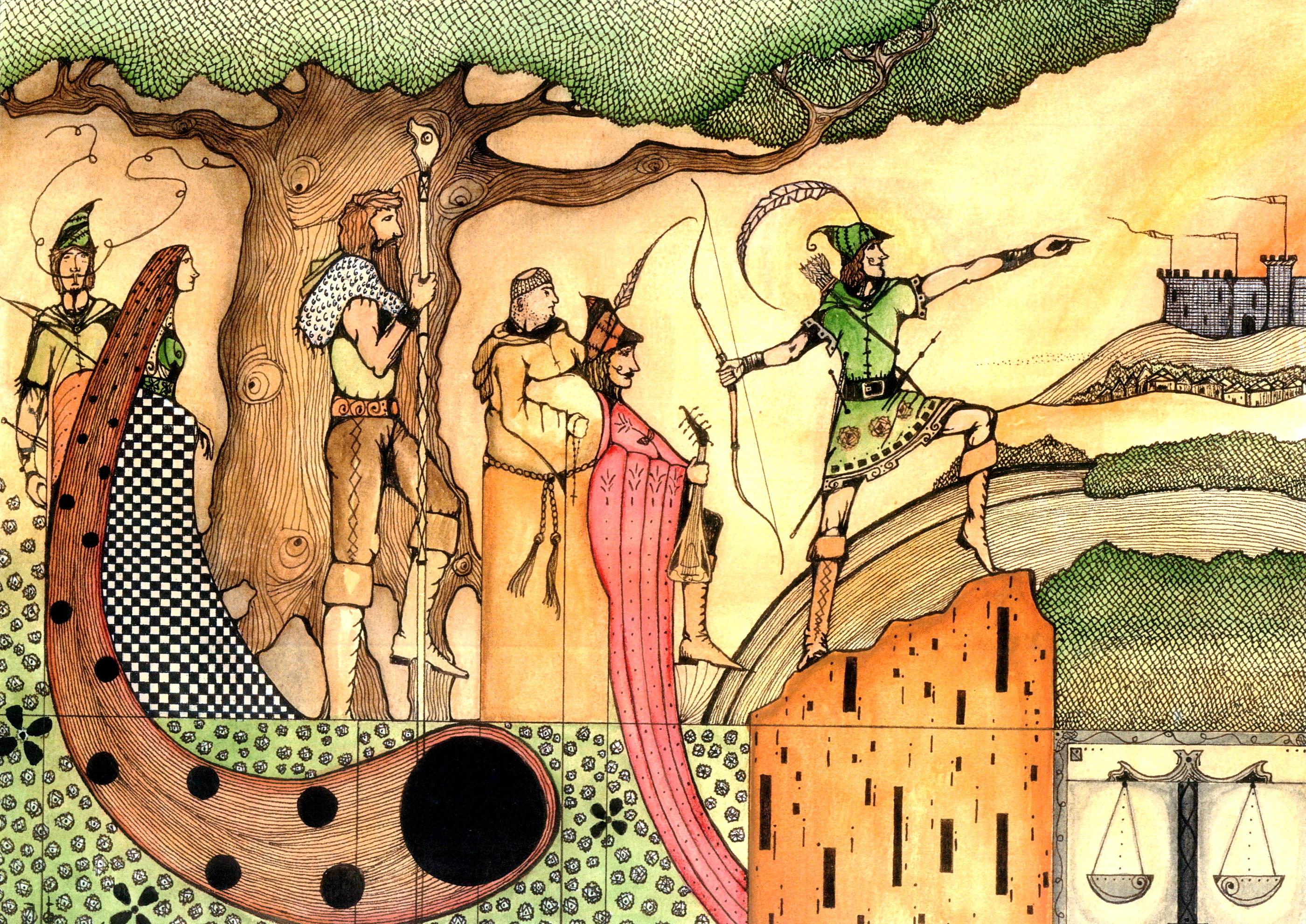 Robin Hood by Artofwarble