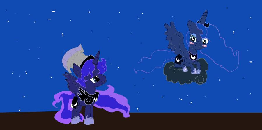 Artemis and Luna by Cartoonfangirl4 on DeviantArt