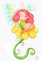 Flower Fairy by ketari