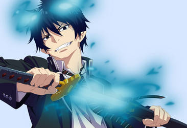 Rin Okumura by BlackCitty