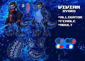 Vivian Ryoko (Ref sheet remake)