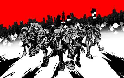 Splatoon x Persona wallpaper