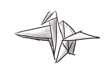A Quick Paper Crane by moonjumper4