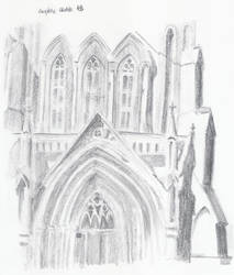 St Andrew's Cathedral Front by Prydey