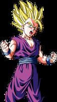 DB Raging Blast 2 - SSJ2 Teen Gohan by UltimateSSJSonGokou4