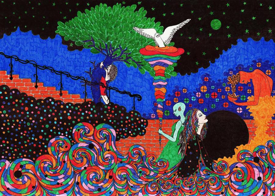 night is falling by ZumrutSahin
