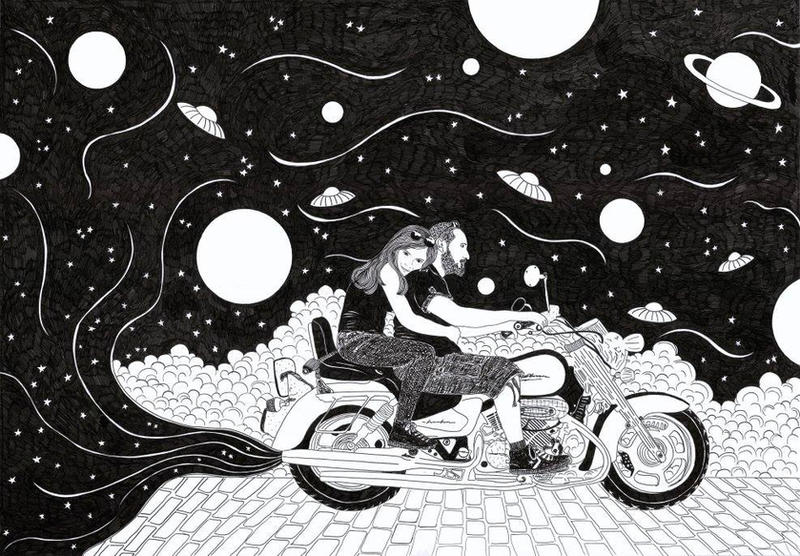 cosmic ride by ZumrutSahin