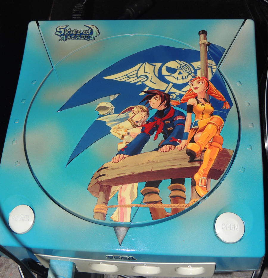 Skies of Arcadia Dreamcast by HannahDoma