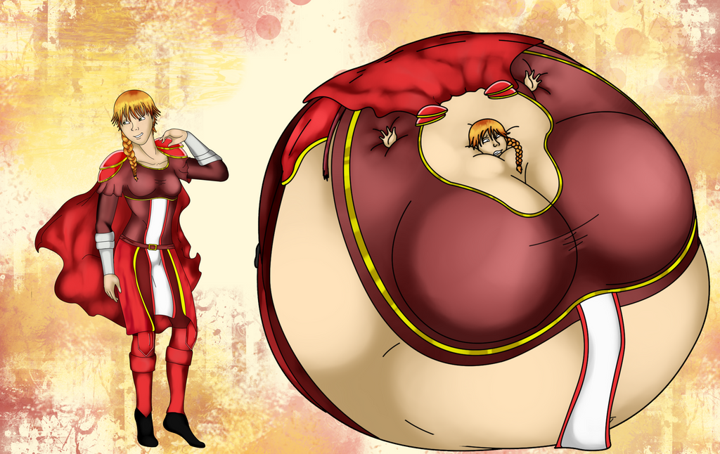 Hot Air Ballooned Knight by HannahDoma