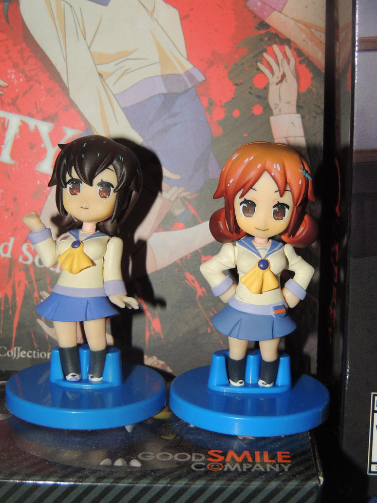 Naomi and Seiko Figurines by HannahDoma