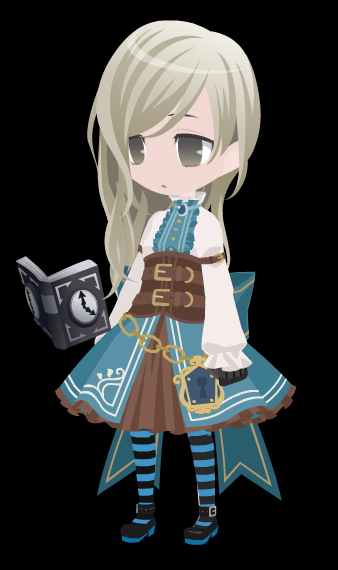Sage's New Outfit Alt. Color by HannahDoma
