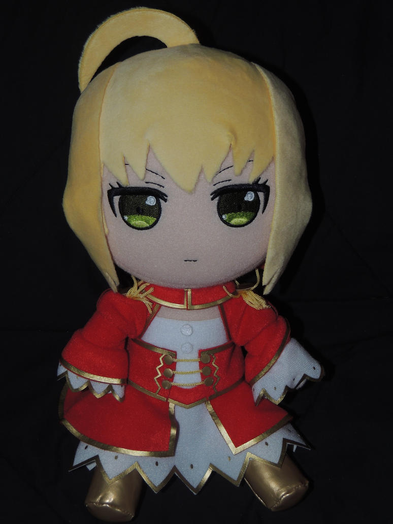 Red Saber Plush by HannahDoma