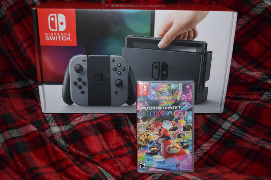 Nintendo Switch Get! by HannahDoma