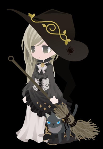 Sage Grimm's Witch Outfit by HannahDoma