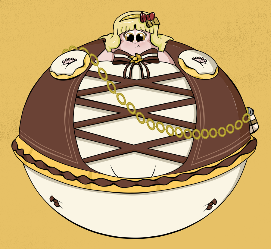 Inflated Victoria Pensworth by HannahDoma
