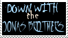 Jonas Brothers Hate Stamp by Mercy-Waters