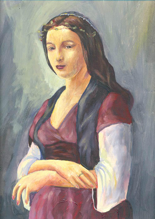 La mujer de la perla by JF3