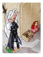 Sephiroth's Day Off 4 by gypsygirlpress