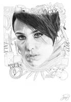 Lisbeth Salander by JanitA