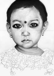 Indian Girl by JanitA
