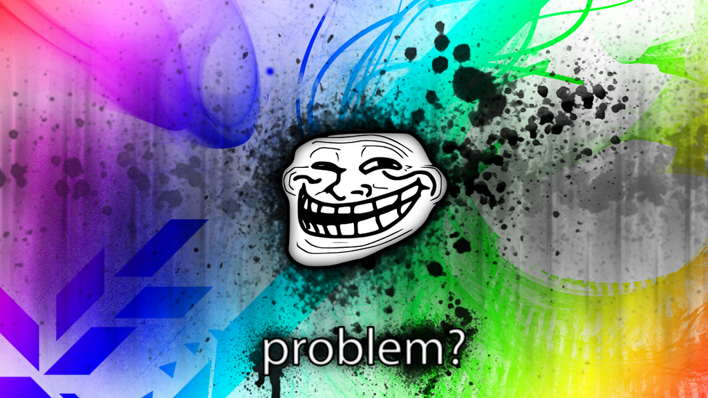 Troll Faces Wallpaper Abstract Trollface Wal...
