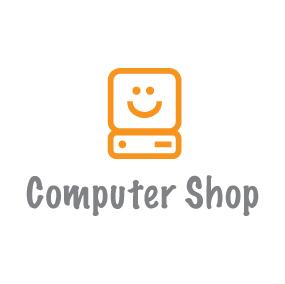 Computer shop logo by AlbertoMoravia on DeviantArt