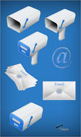 SHARP Email Icons by GrDezign