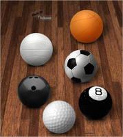 Sport Balls set by GrDezign