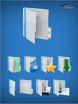 SHARP Folder Icons