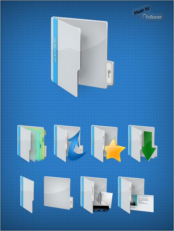 SHARP Folder Icons by GrDezign