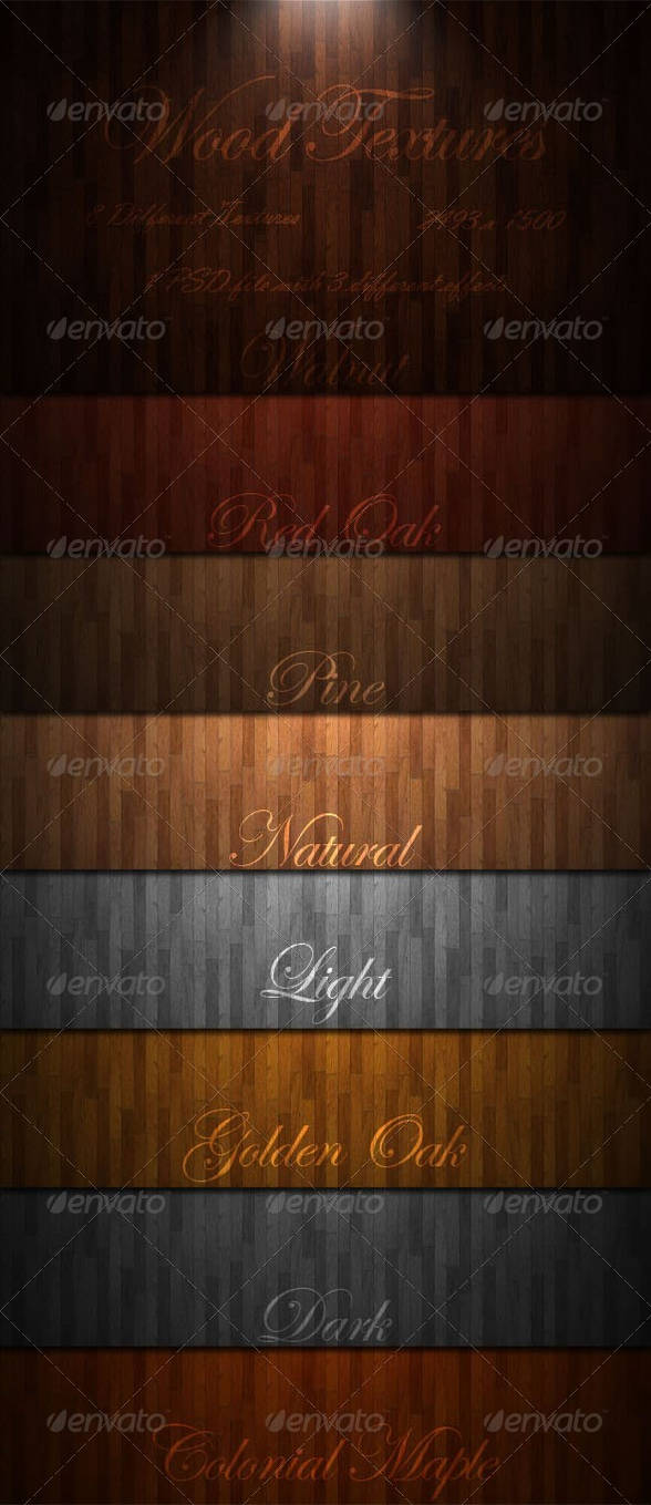 Wood Textures by GrDezign