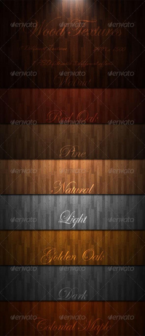 Wood Textures by GrDezign