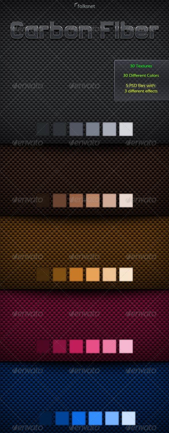Carbon Fiber Textures by GrDezign